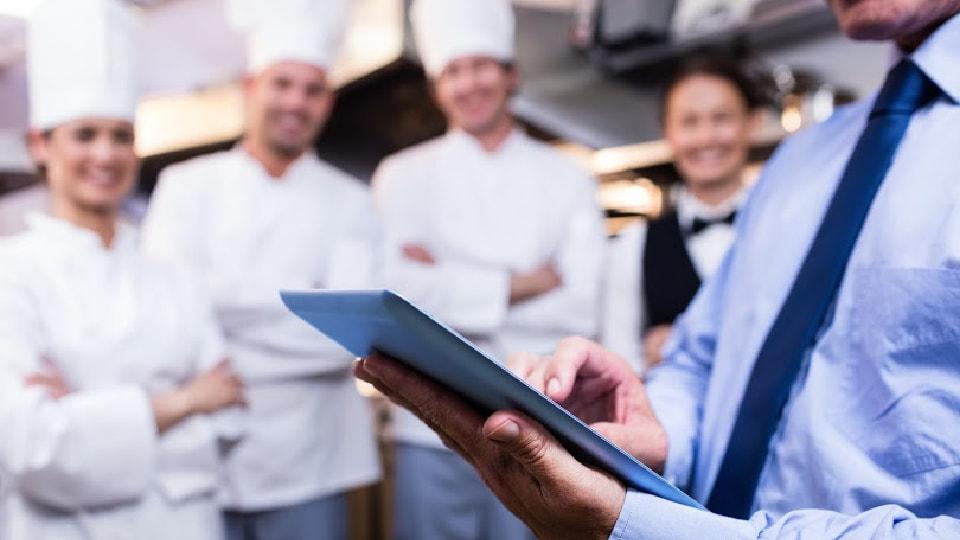 equipe de catering